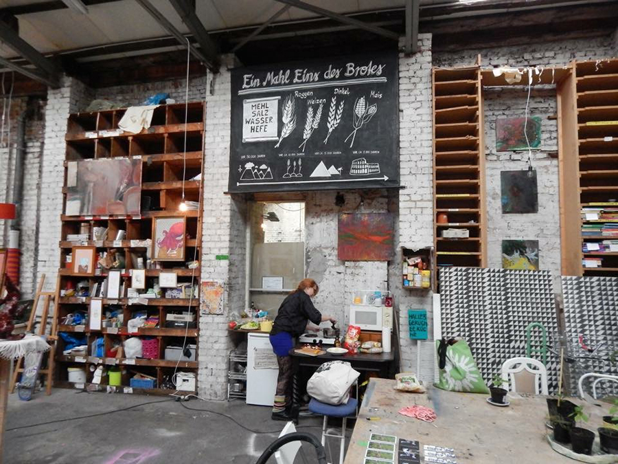 Atelierbesuch bei Lara Rottinghaus, 22. Januar 2016, Boui Boui Bilk, Düsseldorf-Datei 14.04.17 22 30 08