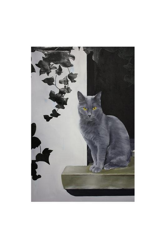 JACQUELINE HESS-Aus den Lebensansichten des Katers Murr Leinwand 1 533x800