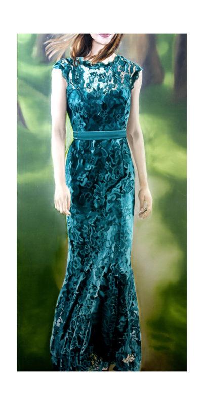 JACQUELINE HESS-Das grüne Kleid 403x800