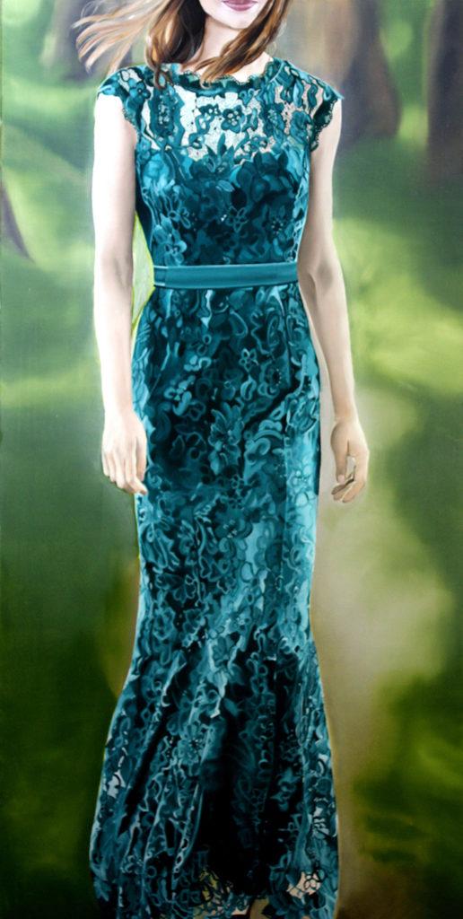 Kunstmesse Kölner Liste 2017-Das gruene Kleid 1 516x1024