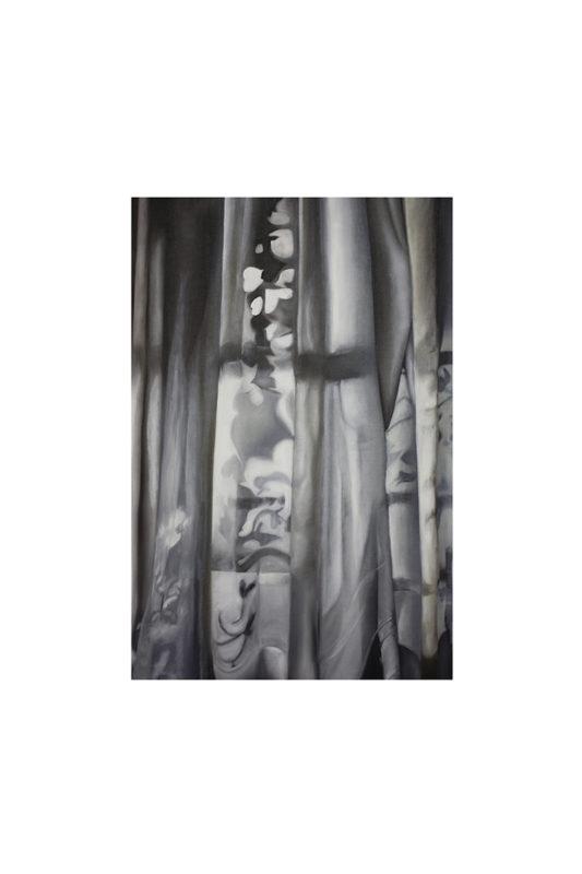 JACQUELINE HESS-Vorhang Nr8 Oel Leinwand 1 533x800