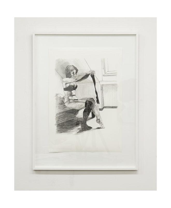 KATHRIN EDWARDS-Kathrin Edwards Die Badenden IV Lithografie auf Büttenpapier 42x594cm 2017 2 660x800